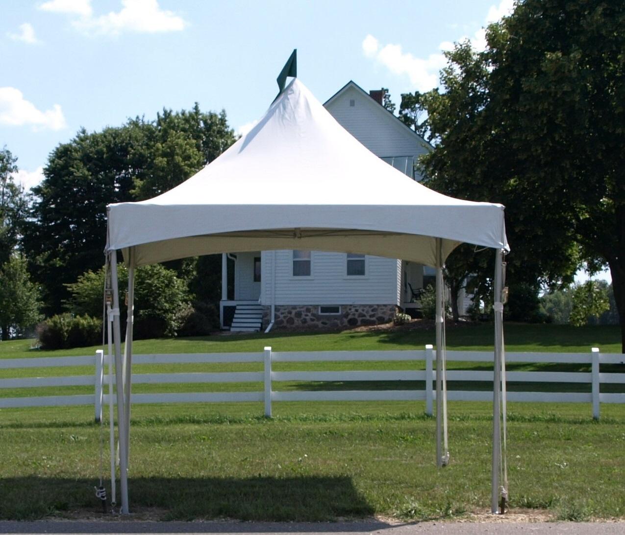 10 x 10 High Peak Frame Tent